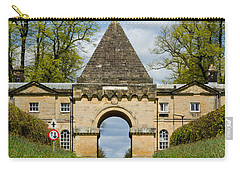 Entrance To Burghley House Carry-all Pouch