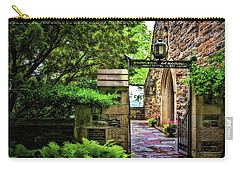 Entrance To Garrett Chapel Carry-all Pouch