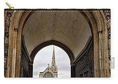 Entrance To Norwich Cathedral  Carry-all Pouch