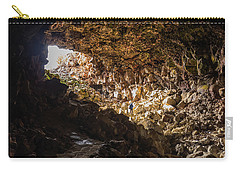 Entrance To Skull Cave Carry-all Pouch