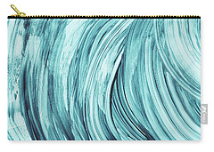 Entranced 2- Abstract Art By Linda Woods Carry-all Pouch