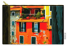 Entry Way Painting Carry-all Pouch by Catherine Lott