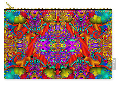 Carry-all Pouch featuring the digital art Environmental Protection-  by Robert Orinski