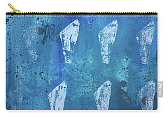 Carry-all Pouch featuring the painting Eolith II by Robin Maria Pedrero