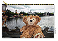 Epcot Bear Mp Carry-all Pouch
