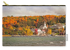 Carry-all Pouch featuring the photograph Ephraim Wisconsin In Door County by Heidi Hermes