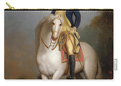 Equestrian Portrait Of George Washington Carry-all Pouch by Rembrandt Peale