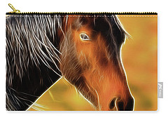 Equine Colors Carry-all Pouch by Steve McKinzie