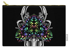 Carry-all Pouch featuring the digital art Eralisater by Andrew Kotlinski