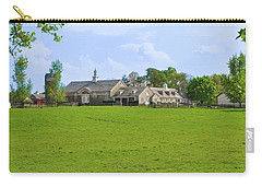 Carry-all Pouch featuring the photograph Erdenheim Farm - Whitemarsh Montgomery County Pa by Bill Cannon