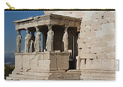 Erechteion With Nike Temple Carry-all Pouch