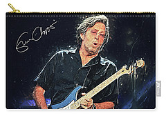 Eric Clapton Carry-all Pouch by Taylan Apukovska