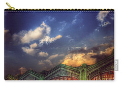 Erie Lackawanna Railroad - Old Architecture 2 - Hoboken Carry-all Pouch