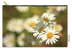 Erigeron Annuus Daisy Like Wildflower Carry-all Pouch