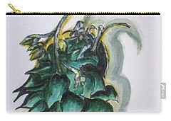 Erika's Spring Plant Carry-all Pouch by Clyde J Kell