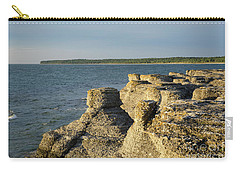 Carry-all Pouch featuring the photograph Eroded Cliff Formations by Kennerth and Birgitta Kullman