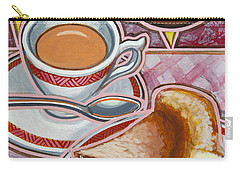 Eroica Britannia And Bakewell Pudding On Pink Carry-all Pouch