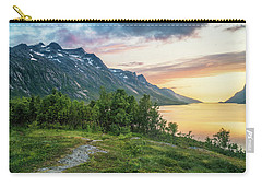 Ersfjord Sunset Carry-all Pouch
