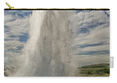 Erupting Geyser In Iceland Carry-all Pouch