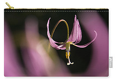 Erythronium Revolutum -365-35 Carry-all Pouch by Inge Riis McDonald