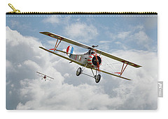 Carry-all Pouch featuring the photograph Escadrille Lafayette - Hunters by Pat Speirs
