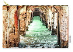 Escape To Atlantis Carry-all Pouch by Pennie  McCracken