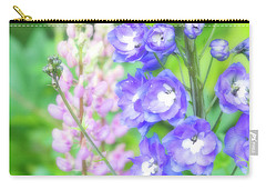 Carry-all Pouch featuring the photograph Escape To The Garden by Bonnie Bruno