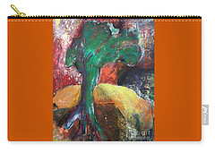 Escaped The Blaze Carry-all Pouch by Elizabeth Fontaine-Barr
