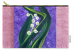 Escaping Winter Lilly Of The Valley Carry-all Pouch