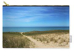 Esch Beach Carry-all Pouch by Rachel Cohen