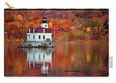 Esopus Lighthouse In Late Fall #2 Carry-all Pouch