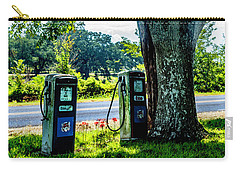 Carry-all Pouch featuring the photograph Esso by Ken Frischkorn