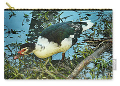 Estuary Duck Carry-all Pouch by Gerhardt Isringhaus