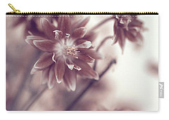Carry-all Pouch featuring the photograph Eternal Flower Dreams  by Jenny Rainbow