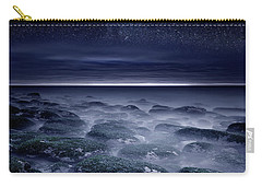 Carry-all Pouch featuring the photograph Eternal Horizon by Jorge Maia