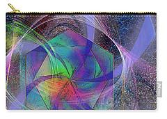 Eternal Reactions Carry-all Pouch by John Robert Beck