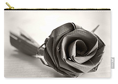 Eternal Rose In Sepia Carry-all Pouch