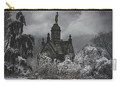 Carry-all Pouch featuring the digital art Eternal Winter by Chris Lord