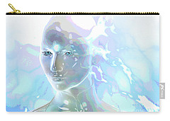 Carry-all Pouch featuring the digital art Ethereal Spirit by Shadowlea Is