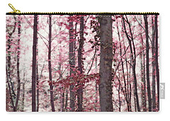 Ethereal Austrian Forest In Marsala Burgundy Wine Carry-all Pouch