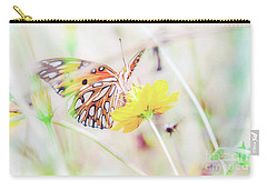 Carry-all Pouch featuring the photograph Ethereal Butterfly by Andrea Anderegg