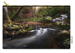 Carry-all Pouch featuring the photograph Ethereal Morning 2017 by Bill Wakeley
