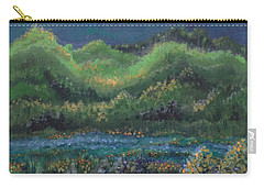 Carry-all Pouch featuring the painting Ethereal Reality by Holly Carmichael
