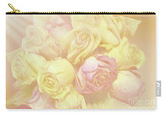 Ethereal Rose Bouquet Carry-all Pouch
