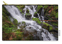 Carry-all Pouch featuring the photograph Ethereal Solitude by Bill Wakeley