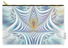 Carry-all Pouch featuring the digital art Ethereal Treasure by Jutta Maria Pusl