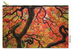 Carry-all Pouch featuring the photograph Ethereal Tree Alive by Darren White