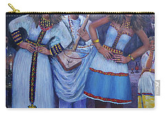 Ethiopian Ladies Shoulder Dancing Carry-all Pouch