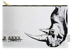 Ethnic Rhino Carry-all Pouch