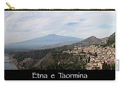 Etna E Taormina Carry-all Pouch